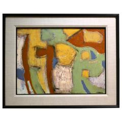 Abstract Painting by Kenneth Joaquin