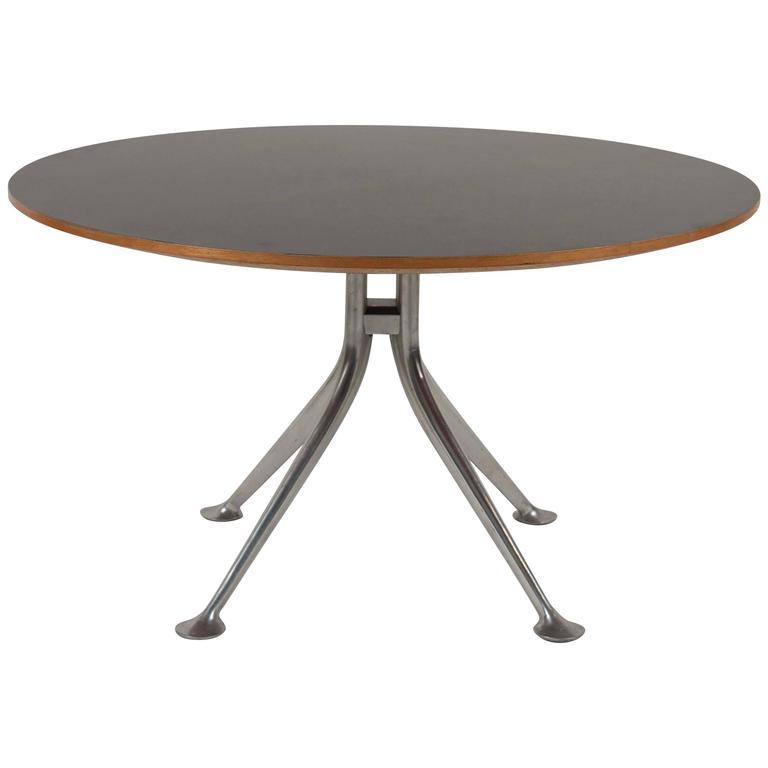 Rare Alexander Girard Round Coffee Table for Herman Miller