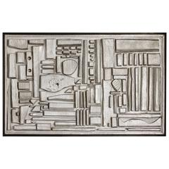 Sculptural Wood Construction