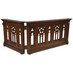 French Gothic Balustrades or Architectural Baluster Railings