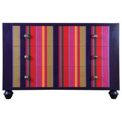 Colorful Modern Chest of Drawers by Michelangeli, Italy
