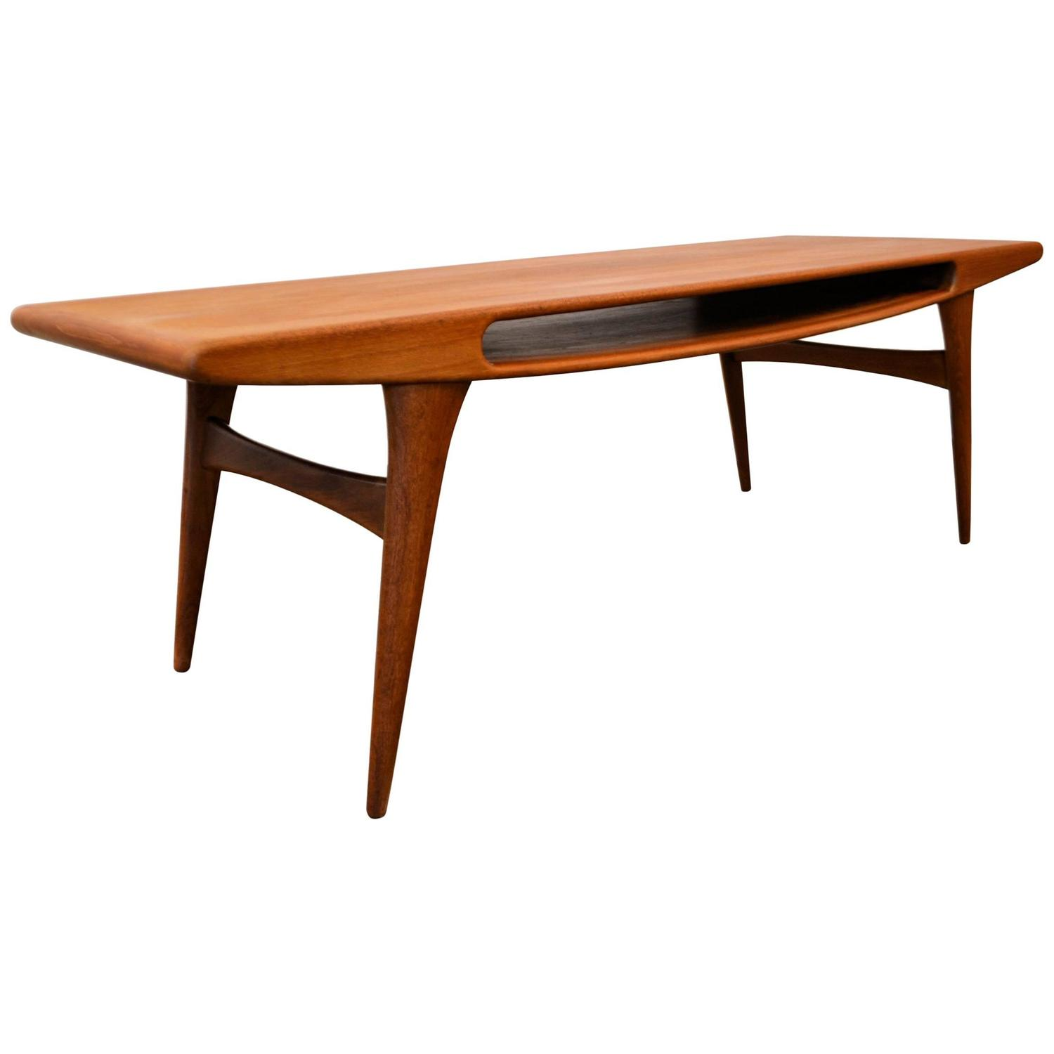 danish modern smile coffee table for sale at 1stdibs. Black Bedroom Furniture Sets. Home Design Ideas