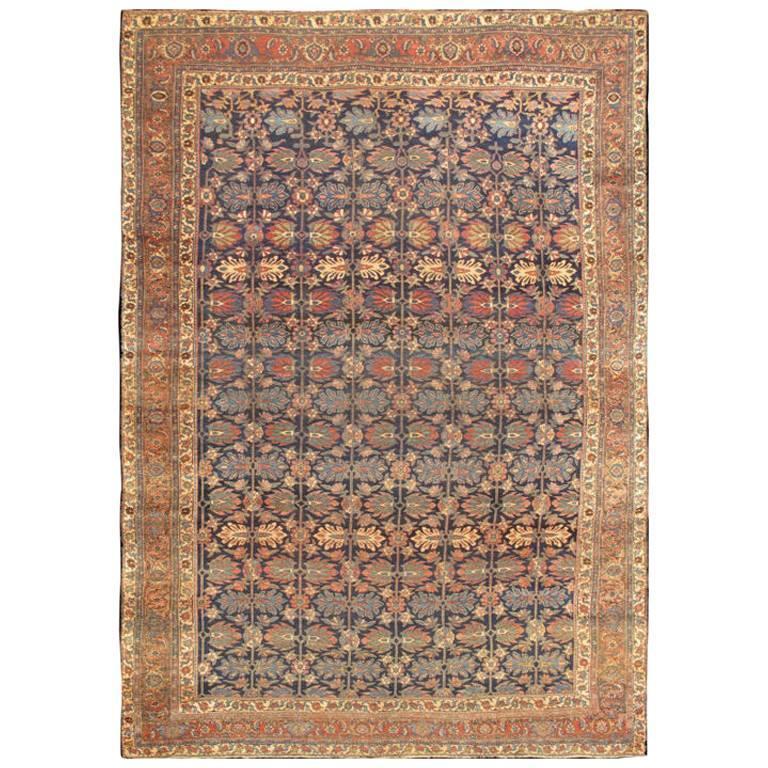 Large Antique Persian Bidjar Rug For Sale At 1stdibs