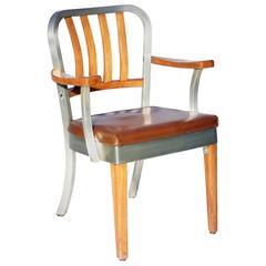 Original Us Shaw Walker Chair Model 8312 Armchair
