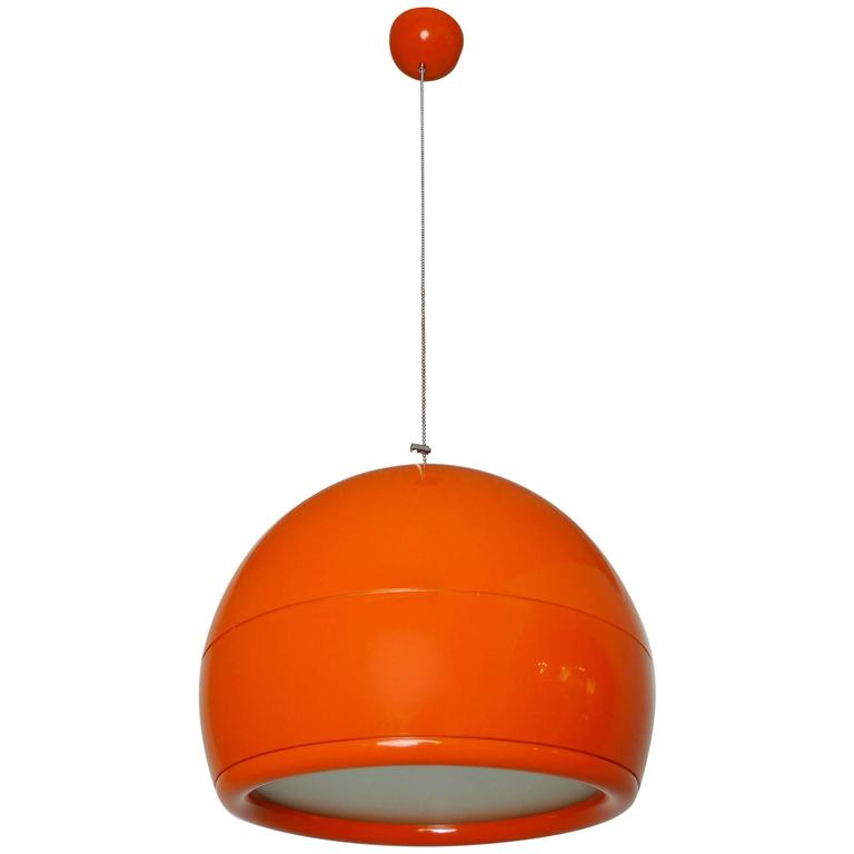 Studio Tetrarch Ceiling Lamp Pallade For Artemide Italy 1968 Sale