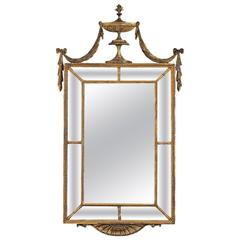 Adam Period Pier Glass Mirror