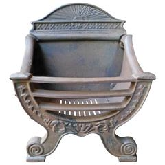 English Fireplace Grate, Fire Grate