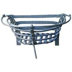 18th Century English Fireplace Grate, Fire Grate