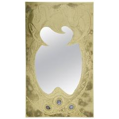 Mirror Etched Brass by Willy Daro