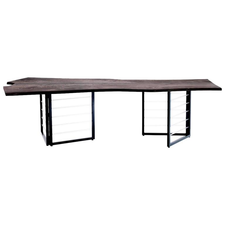 Handcafted Jemm Cottenwood Dining Table By Mats Christeen For Sale - Conference room table mats