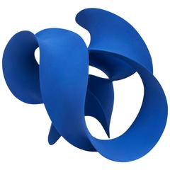 """Blue Twisted Form"" by Merete Rasmussen"