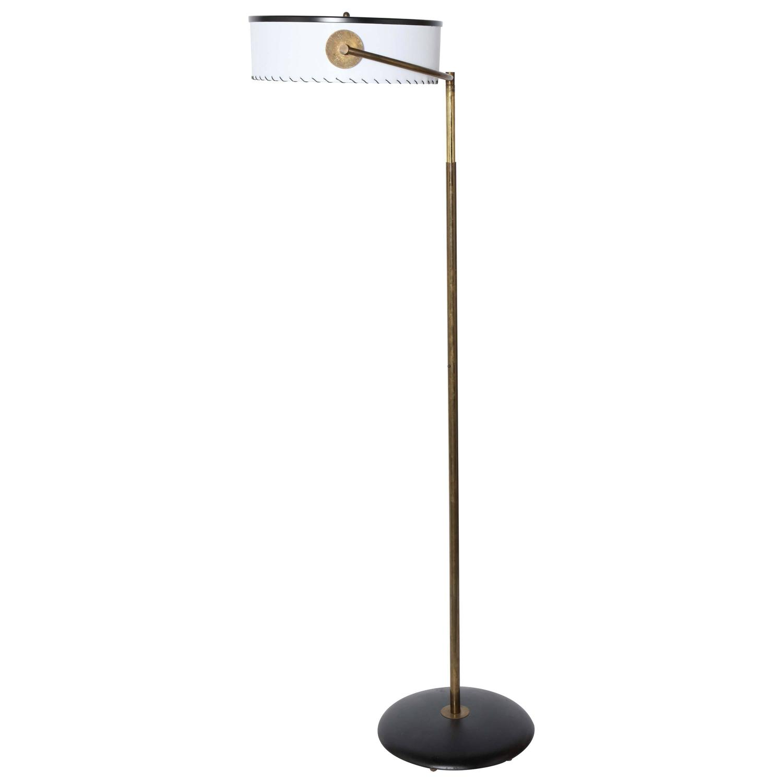 Rare 1930s Kurt Versen Bronze Floor Lamp For Sale At 1stdibs