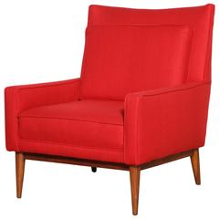"""Paul McCobb for Directional 1312 """"High Back"""" Lounge Chair"""