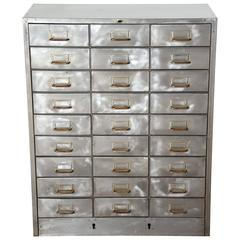 Early 20th Century 27 Drawer Industrial Apothecary