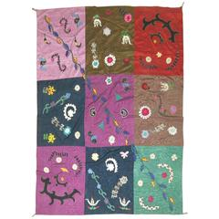 Vintage Uzbek Textile Embroidery