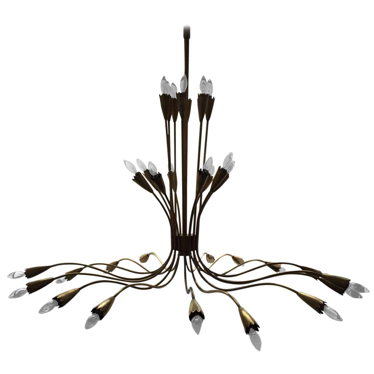 classic a light chandelier world brass spider metal interiors products