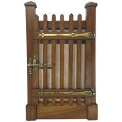 Victorian Trompe L'oeil Cage Motif Frame