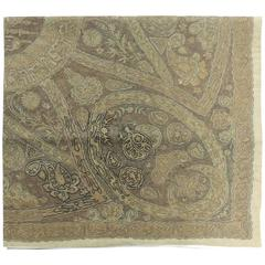 Turkish Ottoman Empire Metallic Embroidery Cloth