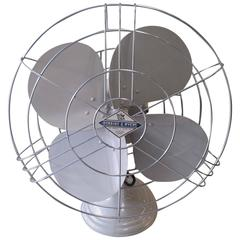 Robbins & Myers Mid-Century Electric Three-Speed Industrial Table Fan, 1950s