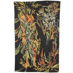 Mid-Century Modern Liliane Badin Needlepoint Tapestry