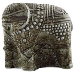 Rörstrand Bertil Vallien Elephant, Ceramics, Sweden 1960s-1970s