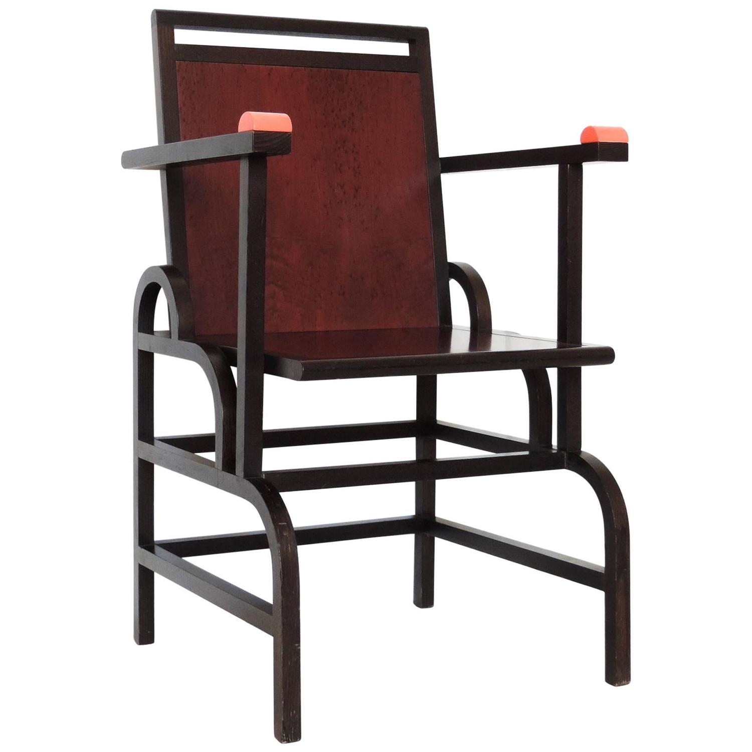 George Sowden For Memphis Milano Gloucester Chair