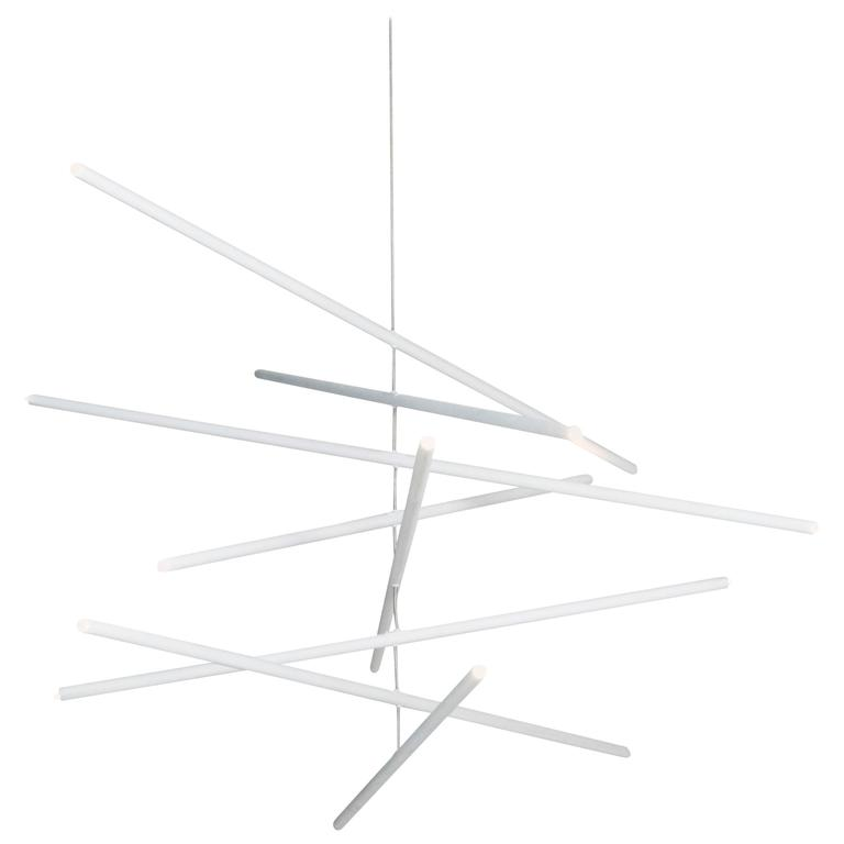 Pyramides Primo Chandelier by Bourgeois Boheme Atelier For Sale