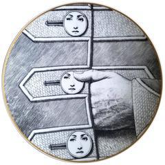 Rosenthal Fornasetti Temi E Variazioni Motiv 13 Plate
