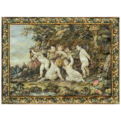 French Cherubs Wall Tapestry