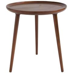Danish Round Tripod Table by Selig