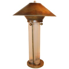 Bronze Patina Steve Chase Designed Lamp