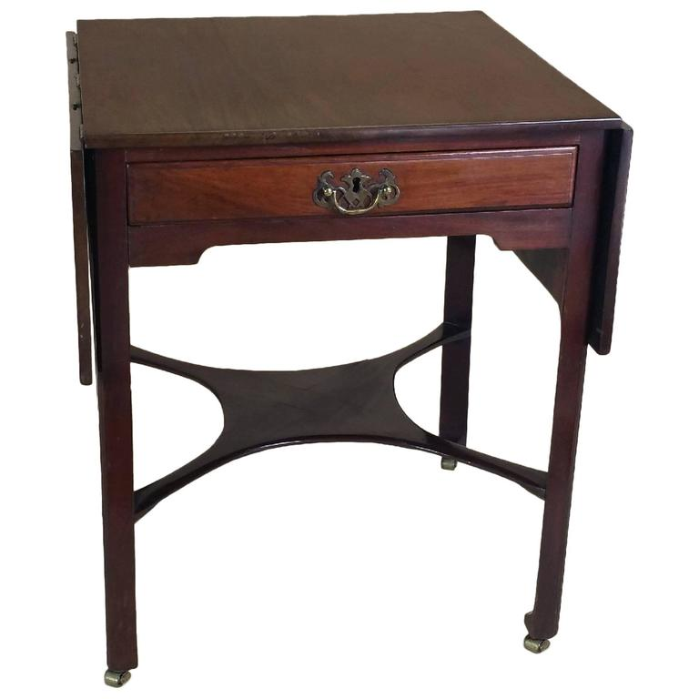 18th Century Mahogany Drop Leaf Table For Sale At 1stdibs