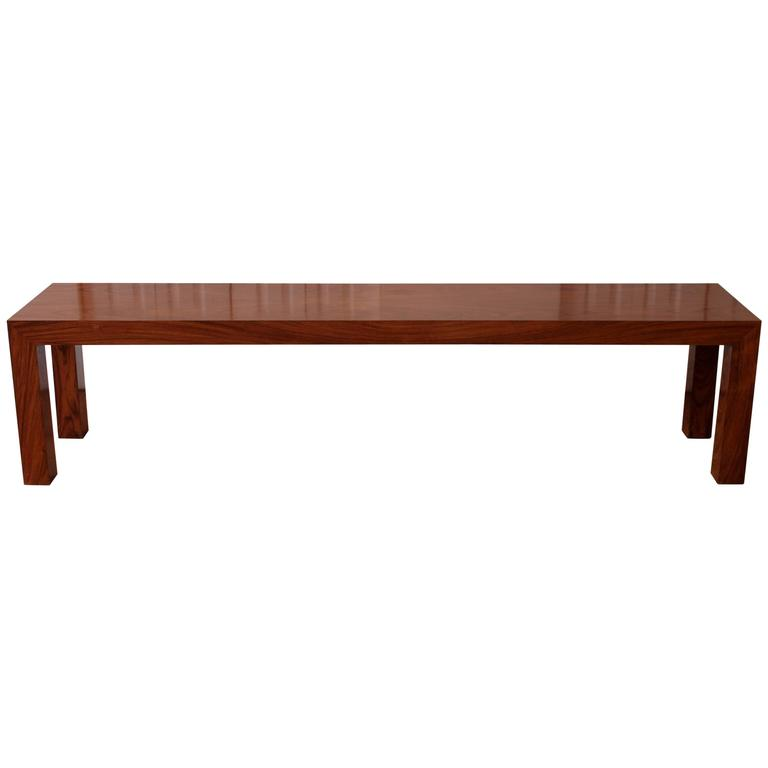 Danish modern rosewood console sofa table for sale at 1stdibs for 5 foot console table