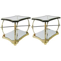 Pair of Side Tables Designed by Roberto and Mito Block, circa 1940