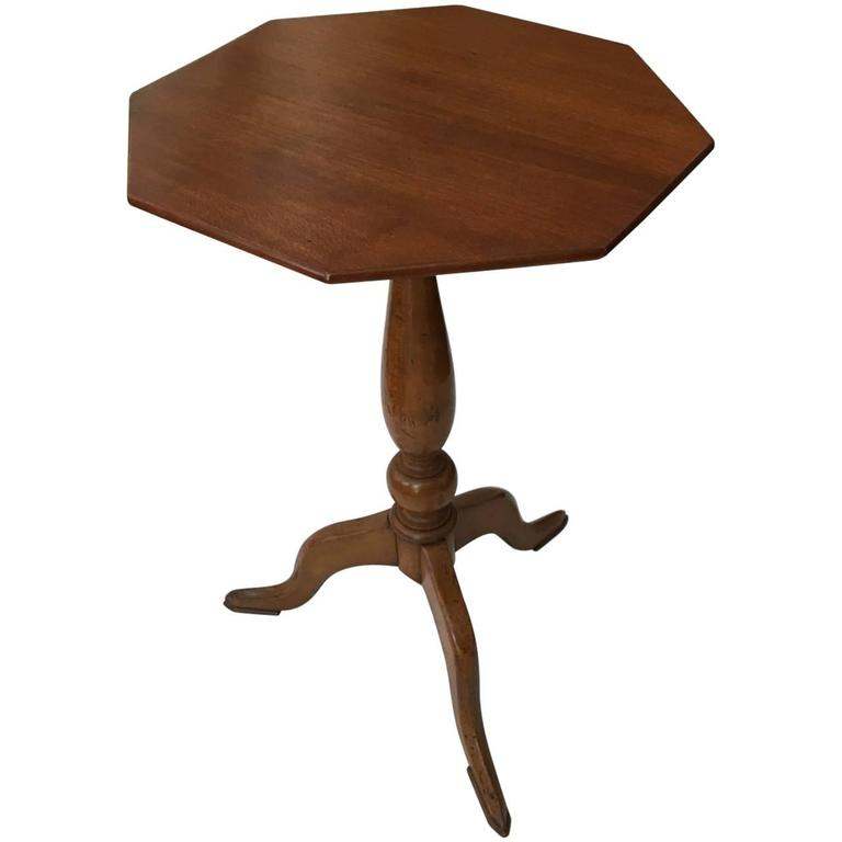 19th Century Continental Fruitwood Table For Sale