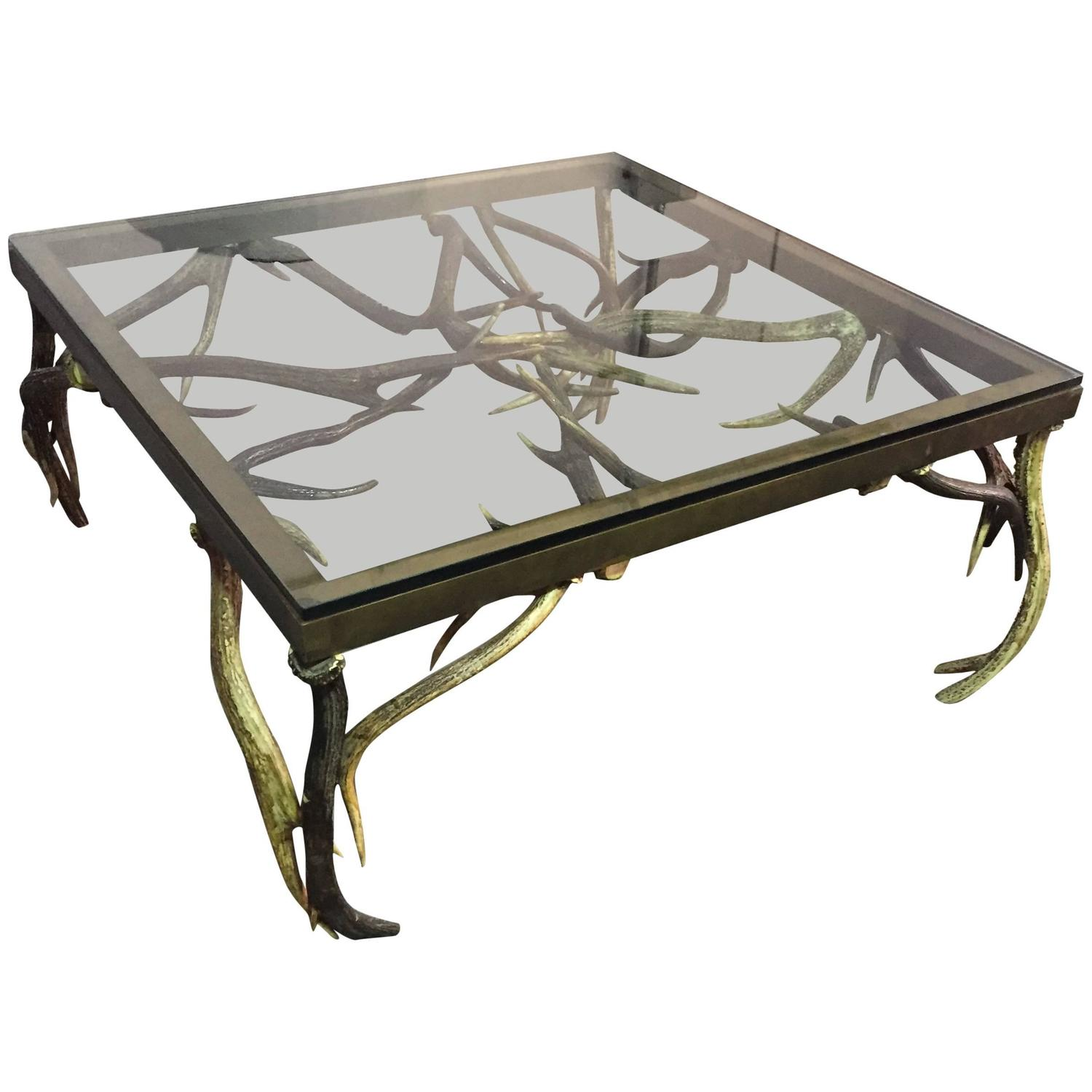 Anthony Redmile Antler Coffee Table For Sale At 1stdibs