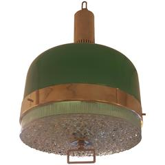 Italian Mid-Century Lighting Fixture in the Manner of Stilnovo