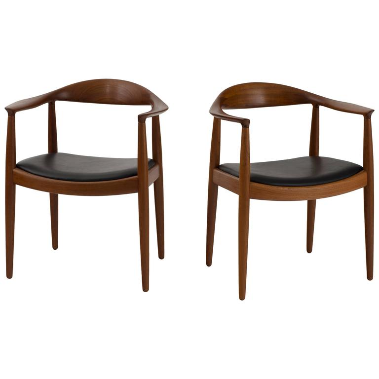 Hans J Wegner The Chair For Johannes Hansen For Sale At 1stdibs