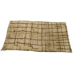 Antique Moroccan Berber Carpet, Mid-19th Century
