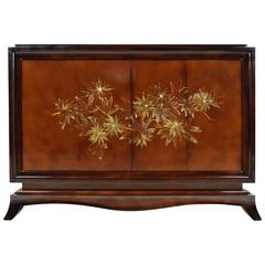 Early 1900s French Chinoiserie Dry Bar