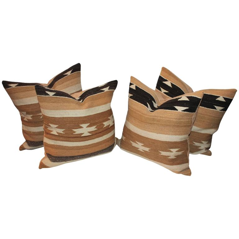 Chinle Navajo Weaving Pillows
