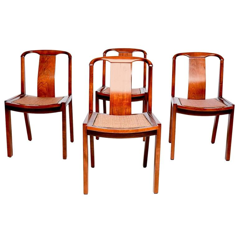 Set of Four Dining Chairs after Baker