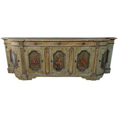 19th Century Venetian Painted Credenza