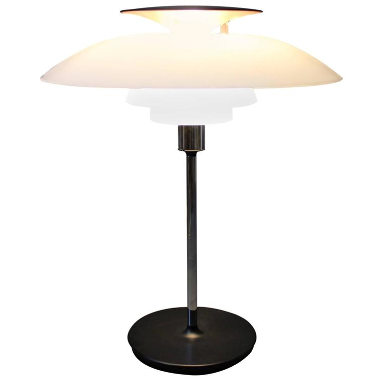 PH 80 Table Lamp by Poul Henningsen and Louis Poulsen, 1980s