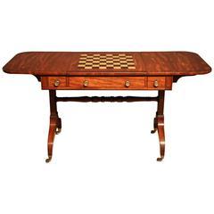 Fine Quality Period Mahogany Games or Sofa Table