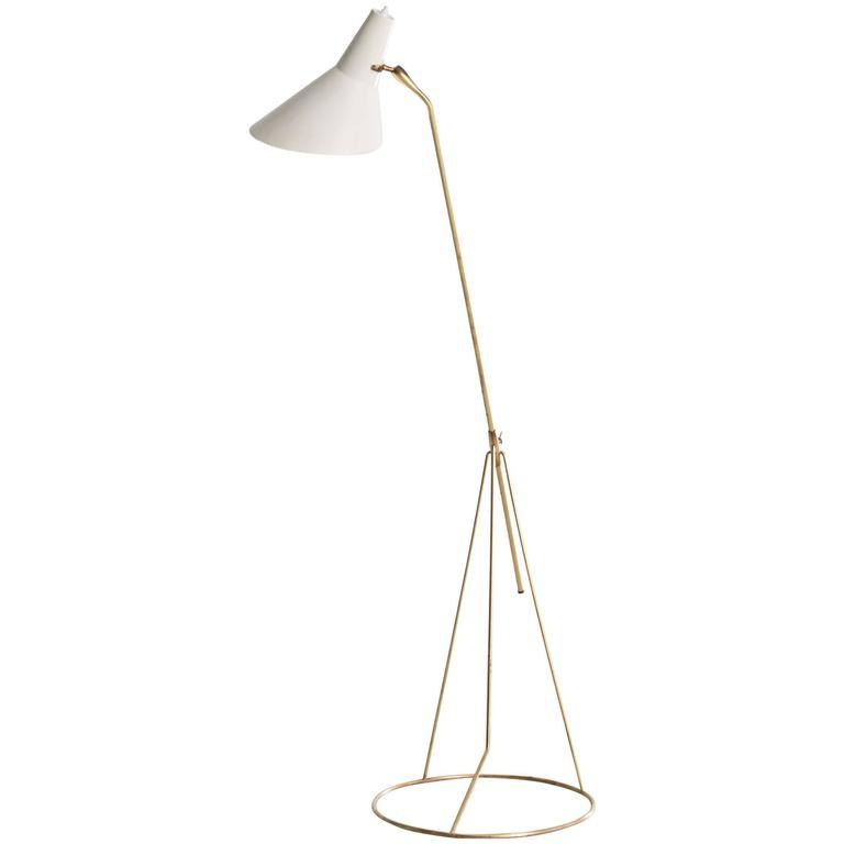 Floor Lamp, France, 1950s