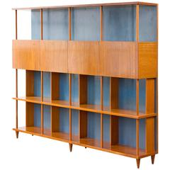 Bookshelf in Caviona Wood by Joaquim Tenreiro, Brazil, 1950s