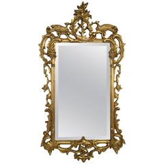 Gold Gilt Hand-Carved Friedman Brothers Mirror