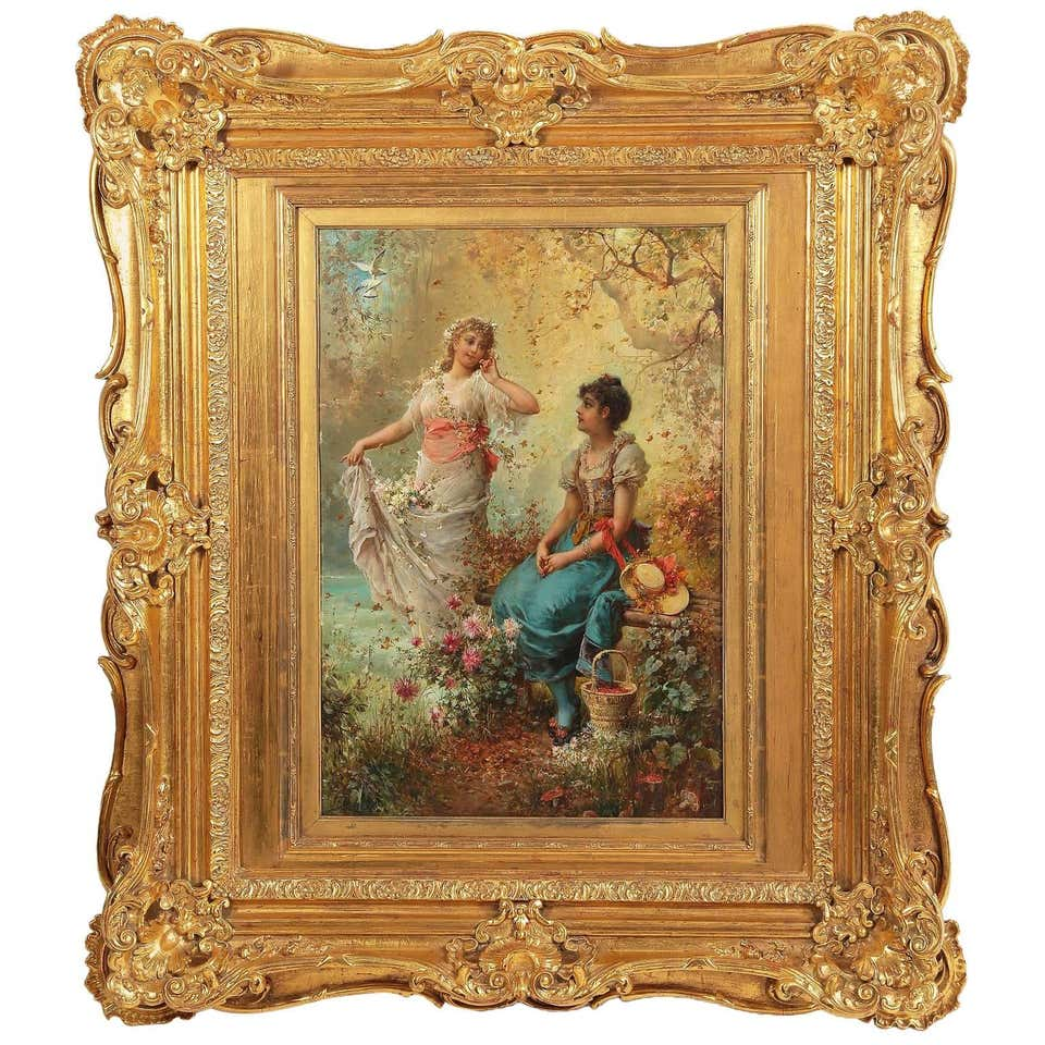 Bertalan Karlovszky Painting For Sale at 1stdibs