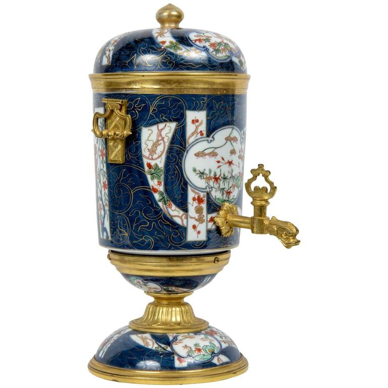 18th Century Japanese Imari Porcelain and French Ormolu Bronze